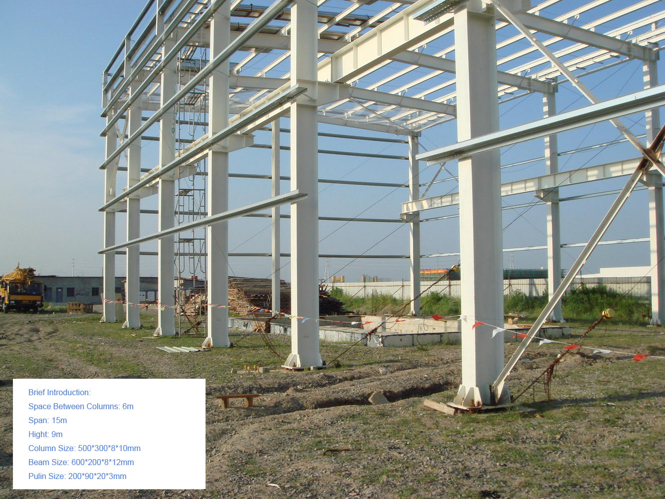 Instance of Technical Specification for Light Steel Structure Building